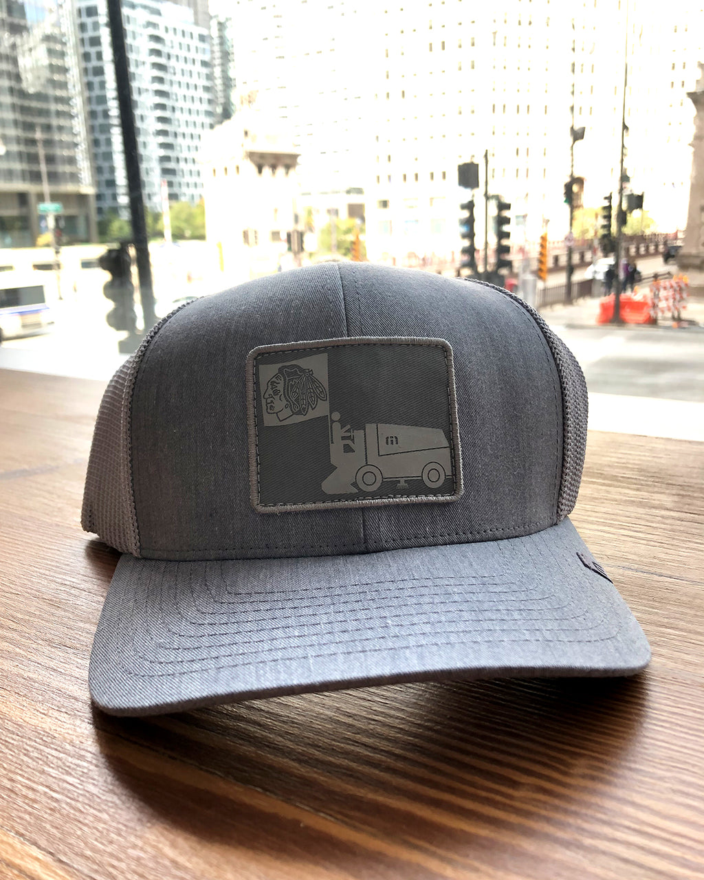 TravisMathew Gray Resurfacer Cap