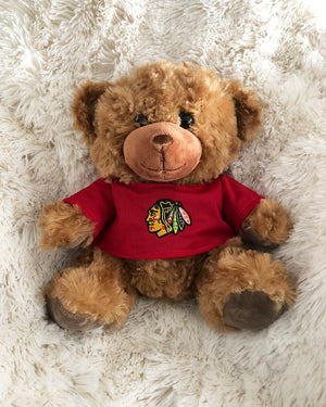 Blackhawks T-Shirt Bear