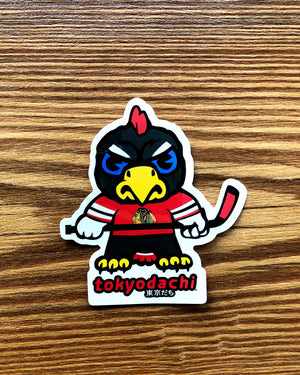 Tokyodachi Tommy Hawk Sticker