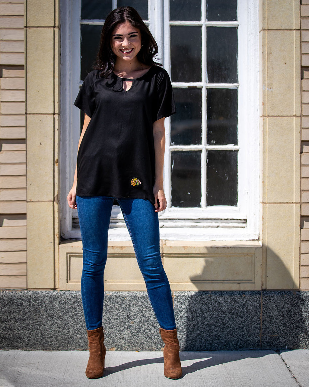 Ladies UG Apparel Black Tunic