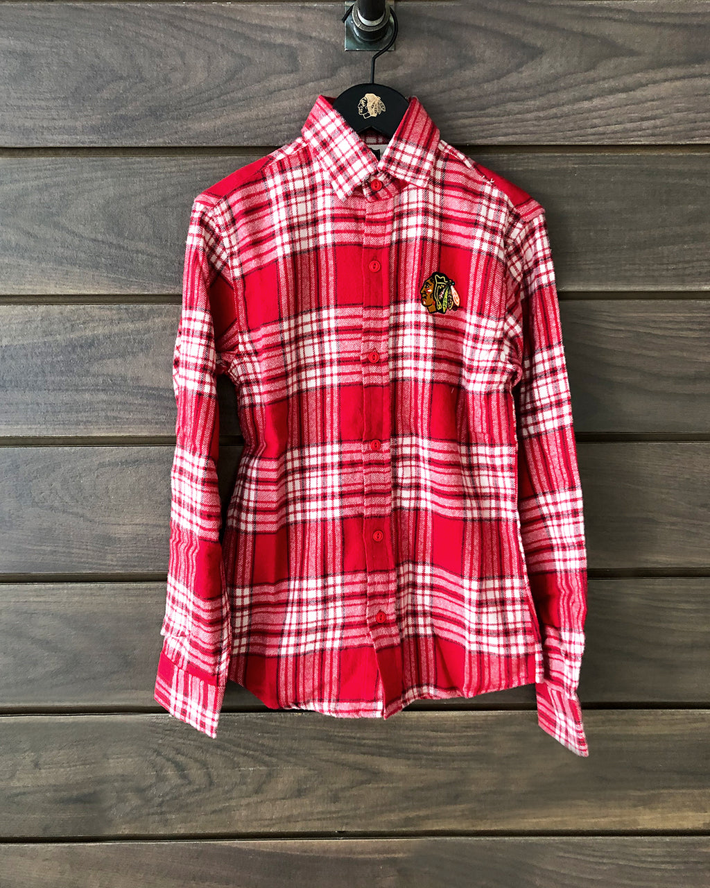 Youth Wes & Willy Flannel Button Down