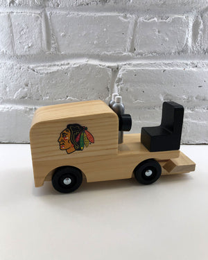 Wooden Ice Resurfacer Toy