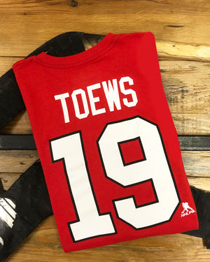 Outerstuff Youth Toews Player Tee