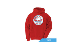 Chicago Dogs Youth Primary Logo Fleece Hoodie