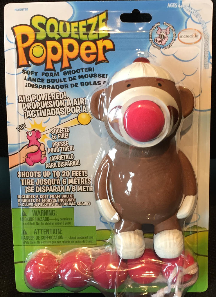 Squeeze Popper Monkey