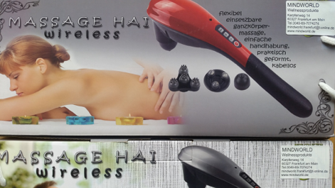 Massage Hai wireless versandkostenfrei