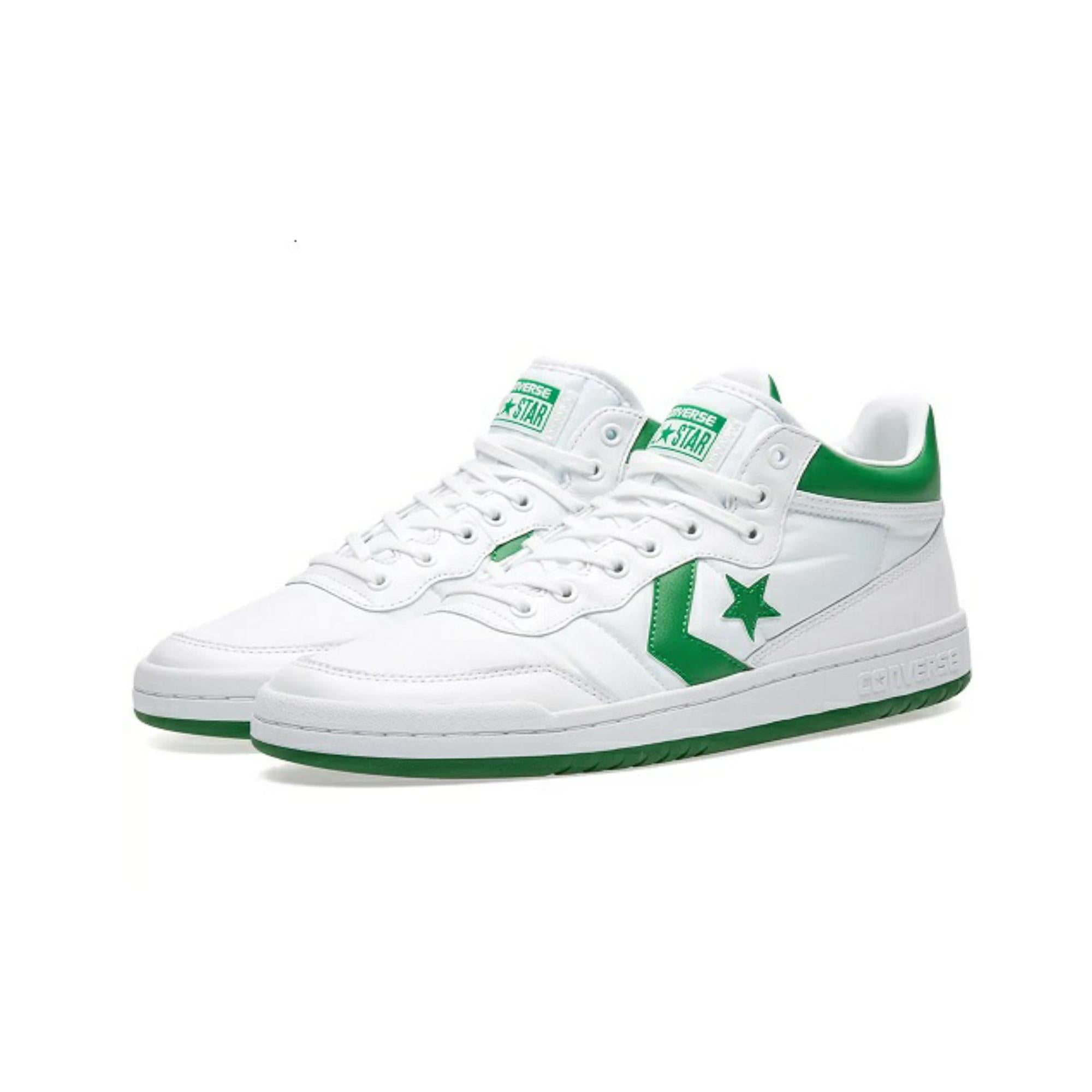 FASTBREAK MID WHITE/GREEN/WHITE 156973C