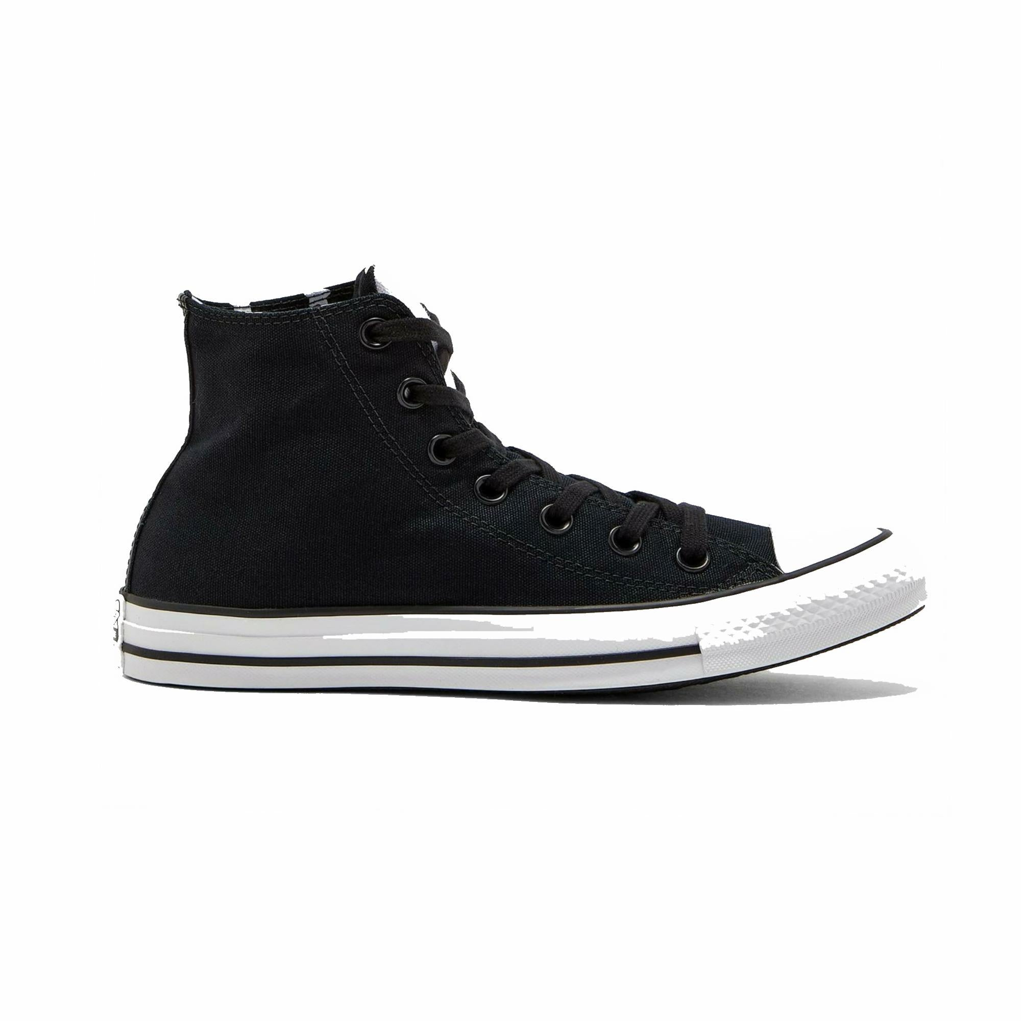 CTAS HI BLACK/FIERY RED/WHITE 163910C