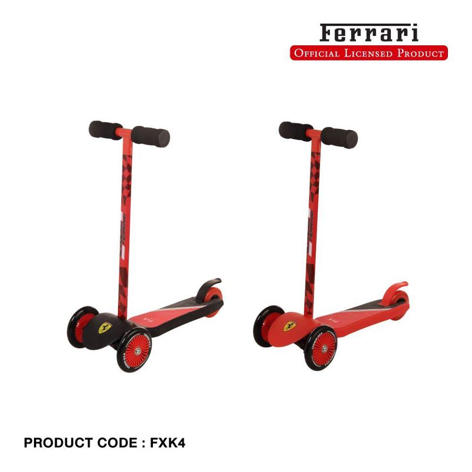 FERRARI TWIST SCOOTER - OUTLETWORLD