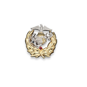 Marine Corps Lapel Pin - Sterling Silver