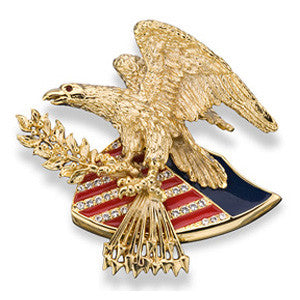 Justice Eagle Pin