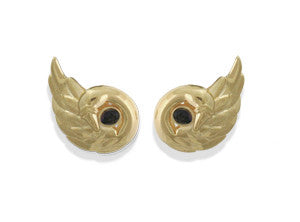 Forever Swan Earrings-Clip