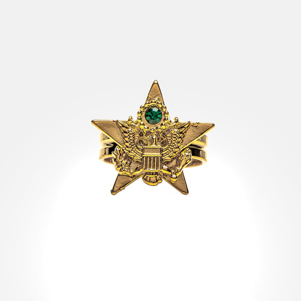 Salute to the Armed Forces Ring
