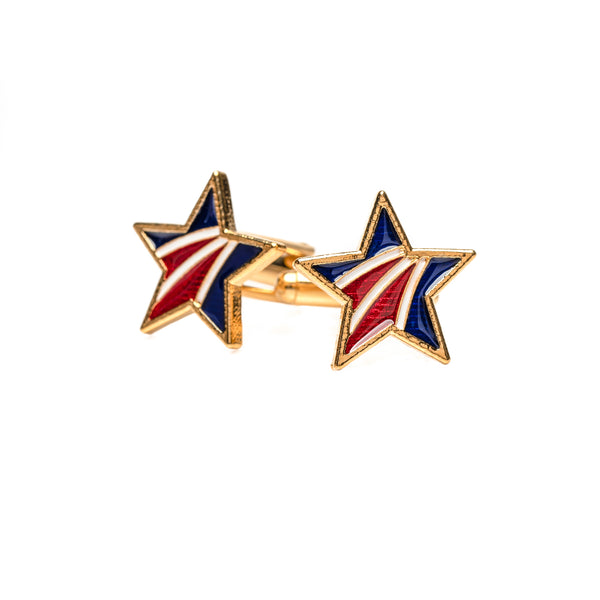 Blue Star Family Cufflinks