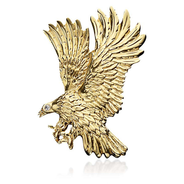 Partners in Peace Eagle Pin