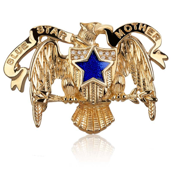Blue Star Mother Pin
