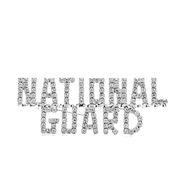 National Guard Crystal Pin