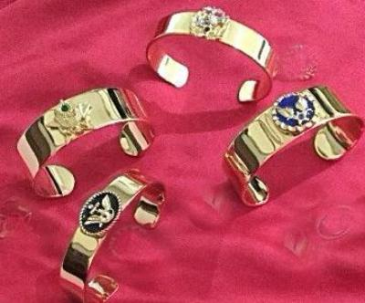 Army, Navy, Marine Corps & Air Force Bracelets