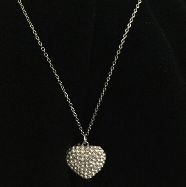 Dazzling Heart Necklace