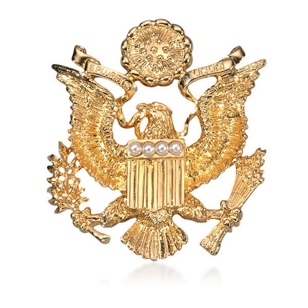 U.S. Great Seal With Pearls Pin