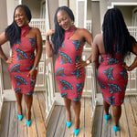 Load image into Gallery viewer, African Print Dress:  Fifehan - Abike Oyedele