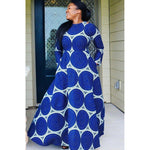 Load image into Gallery viewer, African Print Dress: AMAA - Abike Oyedele