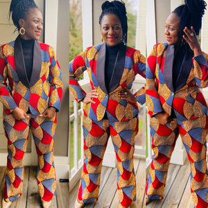African Print Suit: Anaiah (Made to Order) Pick your fabric. - Abike Oyedele