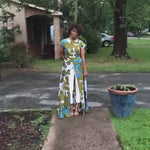Load and play video in Gallery viewer, African Print Dress: Yulvoncia | Made to Order