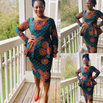 Load image into Gallery viewer, African Print Skirt Set: Yemisi - Abike Oyedele