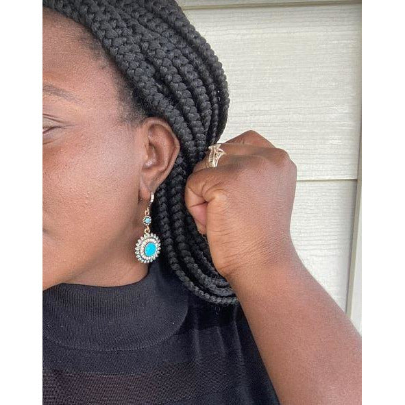 Drop Earrings: Melanie - Abike Oyedele