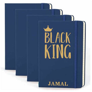 Black King Personalized Hardcover Journal - Abike Oyedele