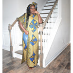 Load image into Gallery viewer, African Print Dress: Ayomipo - Abike Oyedele
