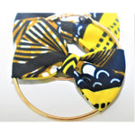 Load image into Gallery viewer, African Print Bow Earrings: Peju - Abike Oyedele