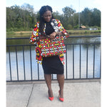 Load image into Gallery viewer, African Print Jacket: Funke - Abike Oyedele