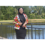Load image into Gallery viewer, African Print Jacket: Grace - Abike Oyedele