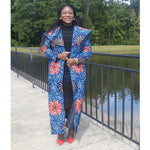 Load image into Gallery viewer, African Print Coat: Abeni - Abike Oyedele