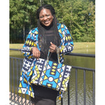 Load image into Gallery viewer, African Print Bag: Rukka - Abike Oyedele