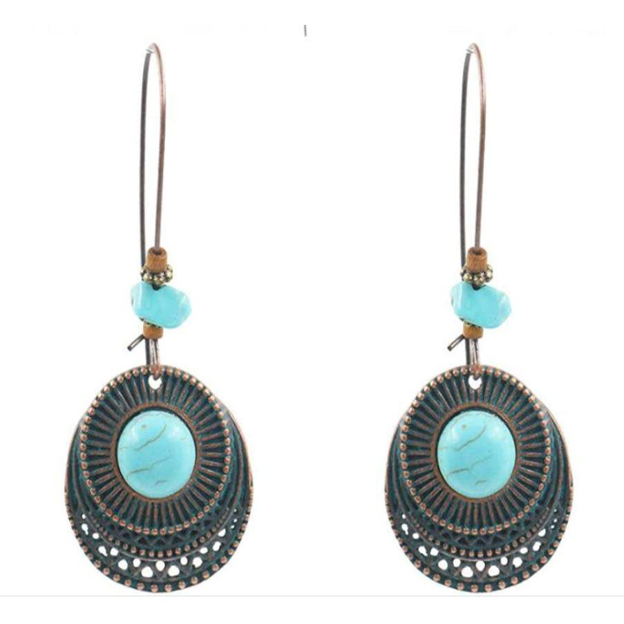 Earrings: Kenya - Abike Oyedele