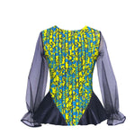 Load image into Gallery viewer, African Print Blouse: Ireti (Made to Order) - Abike Oyedele