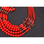 Load image into Gallery viewer, African Inspired Necklace Set: Folake - Abike Oyedele