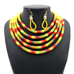 Load image into Gallery viewer, African Inspired Necklace: Adunni - Abike Oyedele
