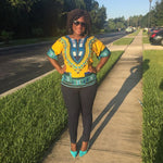 Load image into Gallery viewer, African Print Dashiki Top: Toni - Abike Oyedele