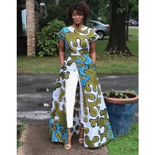 African Print Dress: Yulvoncia (Made to Order) - Abike Oyedele