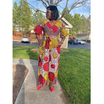 Load image into Gallery viewer, African Print Jumpsuit: Toyin - Abike Oyedele