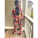 Load image into Gallery viewer, African Print Suit: Anaiah (Made to Order) Pick your fabric. - Abike Oyedele