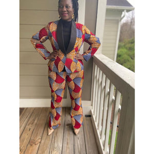 African Print Pants: Ore - Abike Oyedele