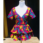 Load image into Gallery viewer, African Print Top: Daisy - Abike Oyedele