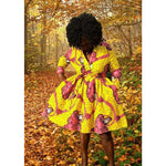 Load image into Gallery viewer, African Print Dress: Ronke - Abike Oyedele