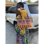 Load image into Gallery viewer, African Print Neoprene Bag: Abeni - Abike Oyedele
