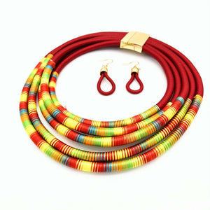 African Inspired Necklace: Adunni - Abike Oyedele